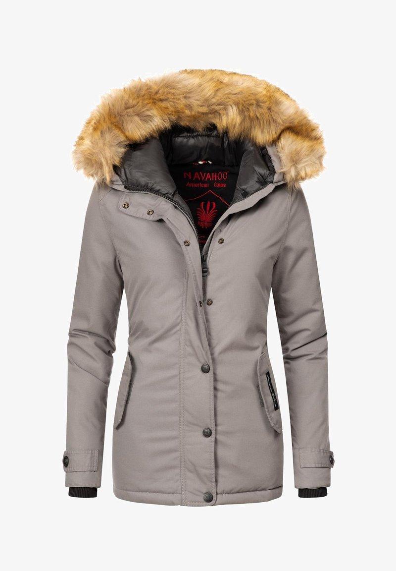 Navahoo - LAURA - Winter jacket - hellgrau