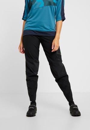DEFEND FIRE PANT - Outdoorové kalhoty - black