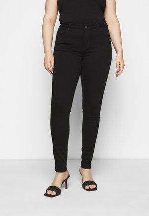 SLFINA - Jeans Skinny Fit - black denim