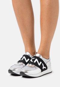 DKNY - MARLI - Slip-ons - silver - 0