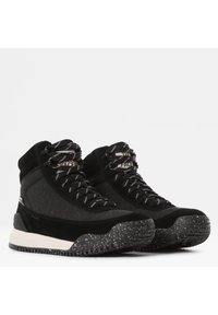 The North Face - W BACK-TO-BERKELEY III REGRIND WP - Mountain shoes - tnf black/vintage white - 6