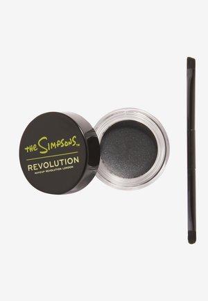 REVOLUTION THE SIMPSONS GRUESOME GEL LINER - Eyeliner - raven bart