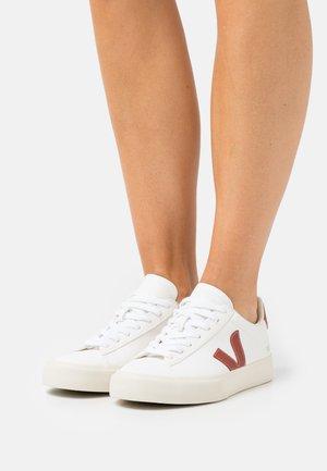 CAMPO - Sneakers laag - extra white/rouille