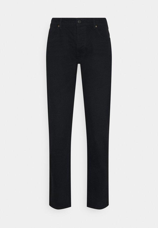 LOU SLIM - Straight leg jeans - reverent black