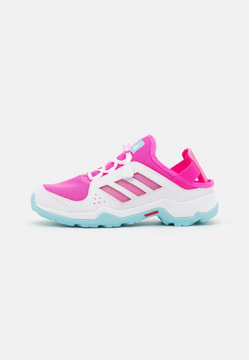 adidas Performance - TERREX HYDROTERRA UNISEC - Trekingové boty - screaming pink/hazy sky/footwear white