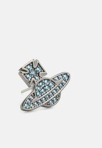Vivienne Westwood - ROMINA PAVE ORB EARRINGS - Earrings - gunmetal/blue - 4