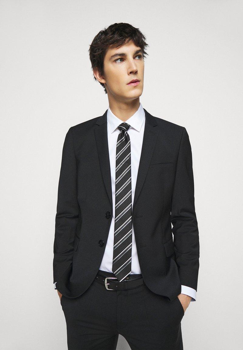 HUGO - TIE - Cravatta - black