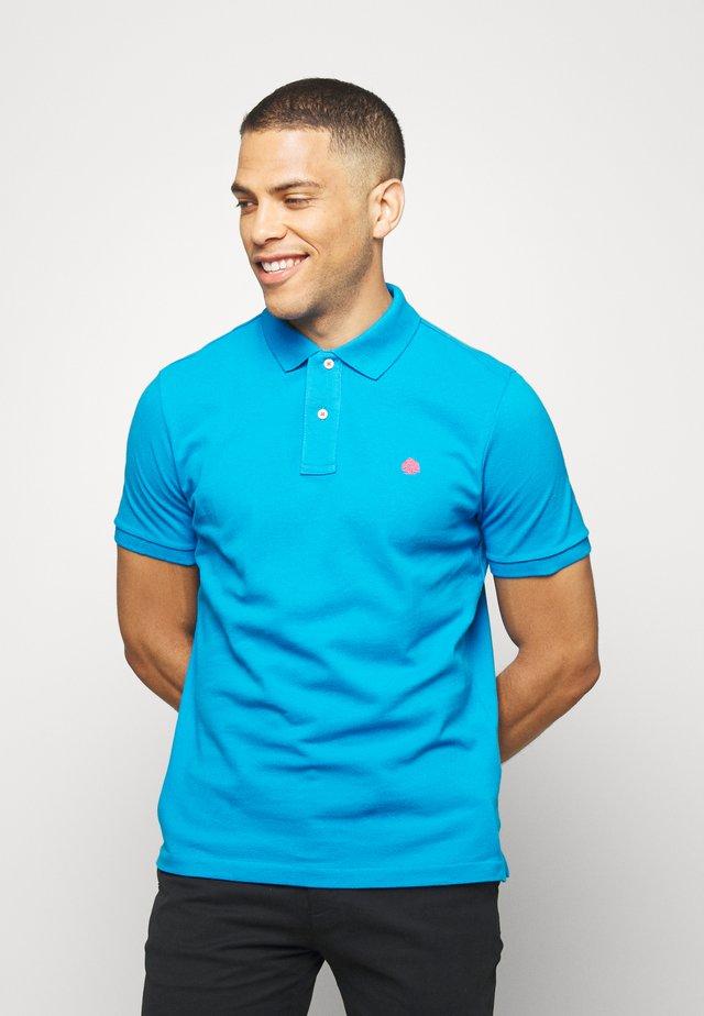 BASICO - Polo shirt - turquoise