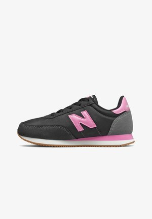 Trainers - black/candy pink