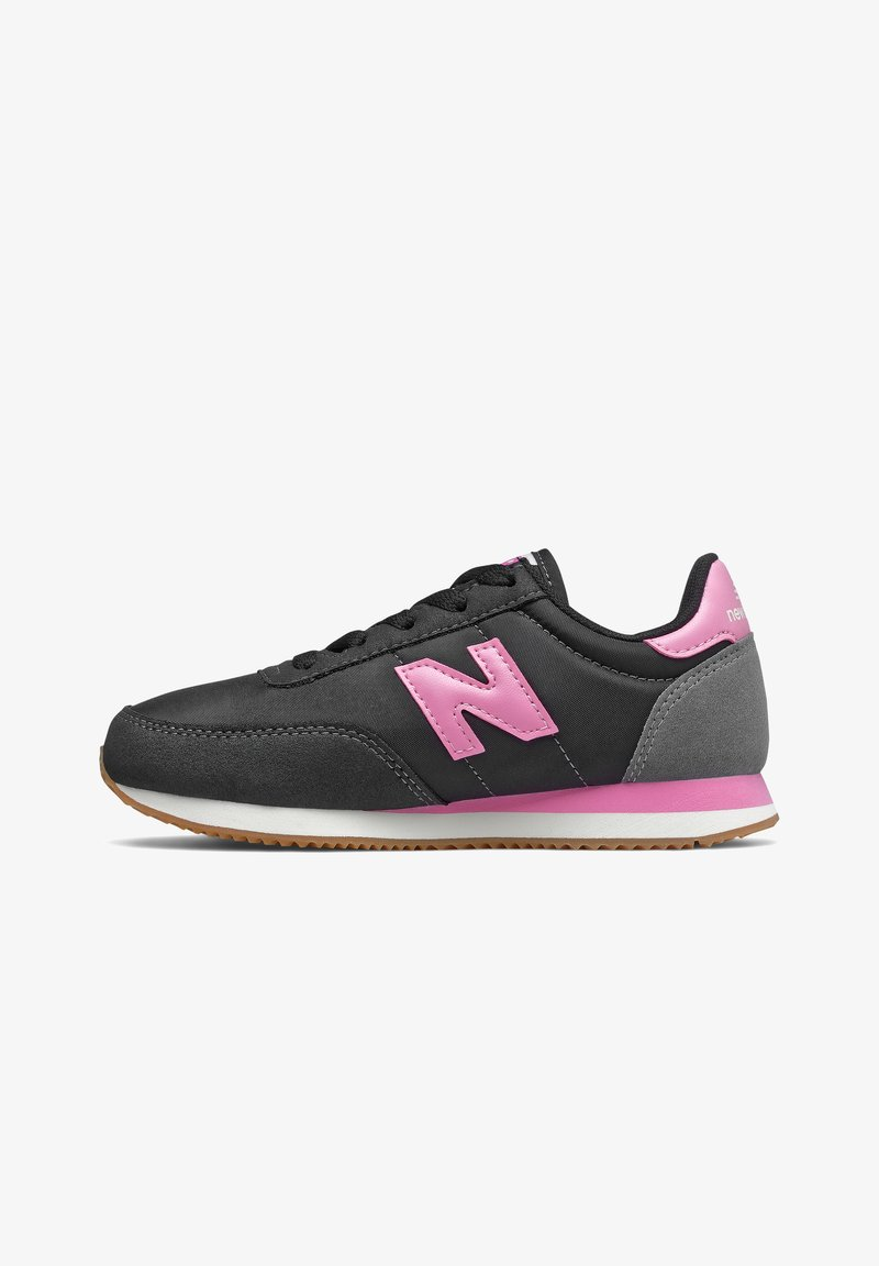 New Balance - Trainers - black/candy pink