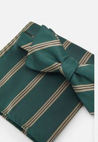 Selected Homme - SLHSULLY TIE BOWTIE BOX SET - Fluga - dark green - 5