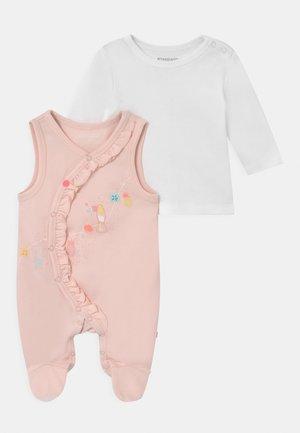 SET - Long sleeved top - soft peach