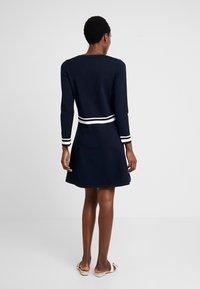Marc O'Polo - HEAVY DRESS LONGSLEEVE - Jumper dress - midnight blue - 2