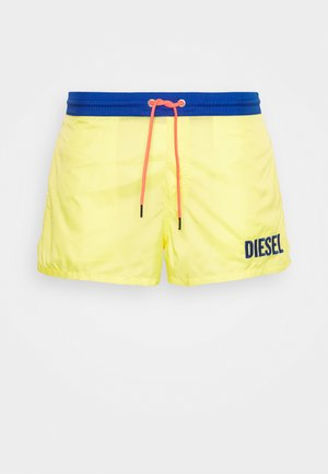 SANDY BOXER - Swimming shorts - yellow/blue