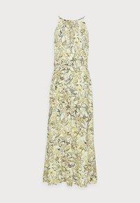 TOM TAILOR - DRESS AMERICAN NECKLINE - Maxi dress - green - 4