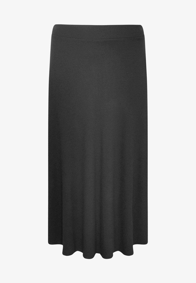 Yoek - Pleated skirt - black