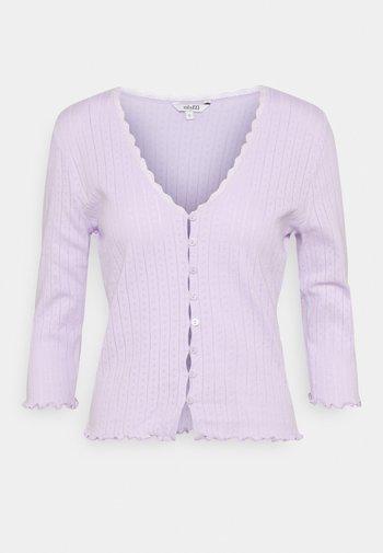 SHASHI - Cardigan - lavender