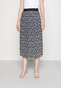 HUGO - RALISSY - A-line skirt - black - 0