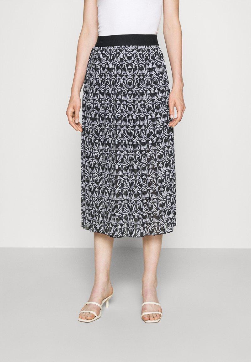 HUGO - RALISSY - A-line skirt - black