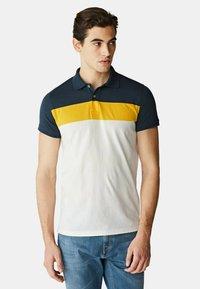 McGregor - Polo shirt - white yellow blue - 2