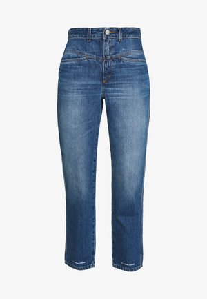 PEDAL PUSHER - Jeans relaxed fit - mid blue