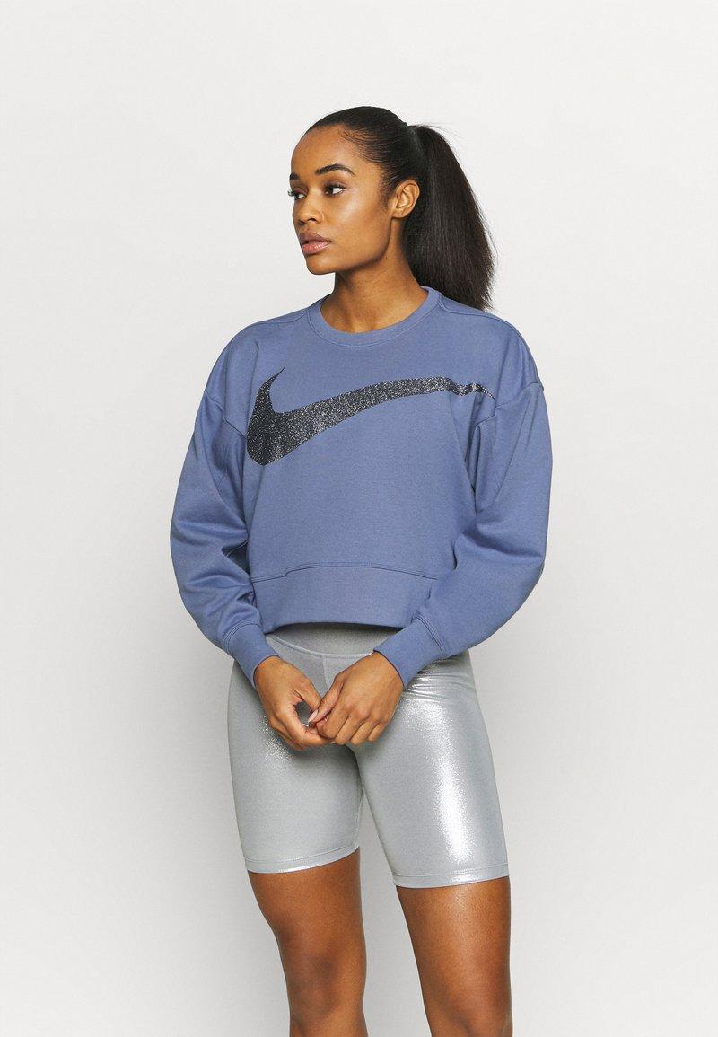 Nike Performance - GET FIT - Sweatshirt - world indigo/black