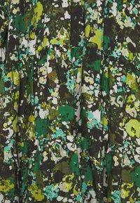 Marc O'Polo PURE - DRESS CASCADES - Day dress - green - 2