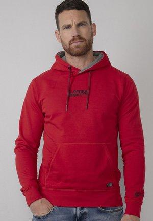 Hoodie - urban red