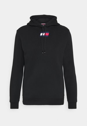 FLAG HOODY - Bluza z kapturem - black