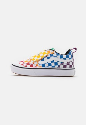 COMFYCUSH NEW SKOOL UNISEX - Sneakersy niskie - multicolor/true white