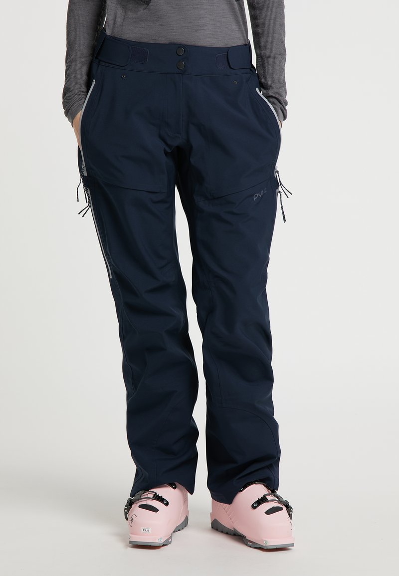 PYUA - Trousers - navy blue