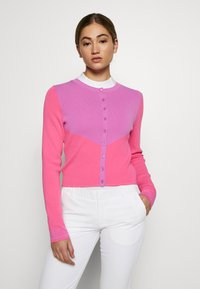 J.LINDEBERG - MELODY - Mikina na zip - pop pink - 0