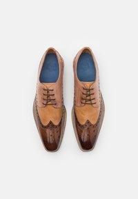 Melvin & Hamilton - MARTIN 15 - Šněrovací boty - mid brown - 3