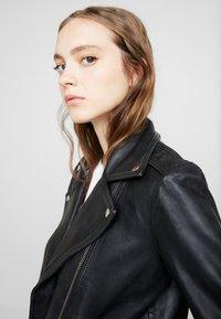 Topshop - MONA - Leather jacket - black - 3