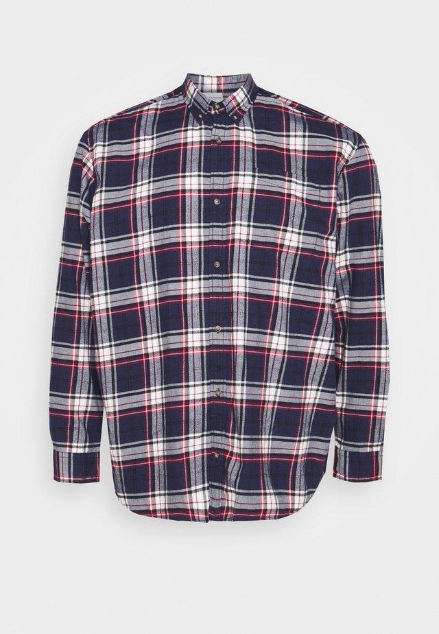JJECLASSIC CHECK - Chemise - navy blazer