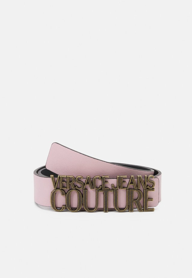 LETTERING BUCKLE - Riem - rosa intimo