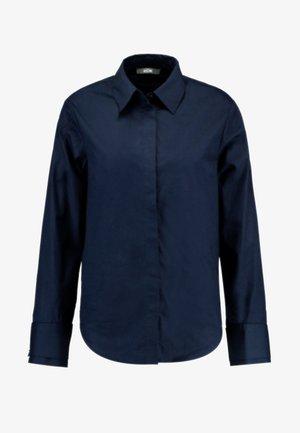 Button-down blouse - sky captain