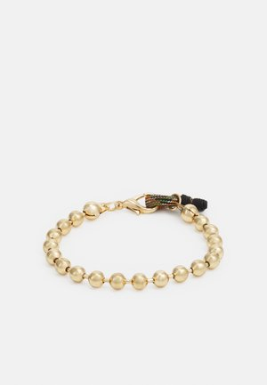 BALL CHAIN LOOP BRACELET - Armband - gold-coloured