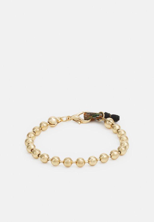 BALL CHAIN LOOP BRACELET - Bracelet - gold-coloured