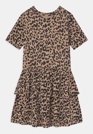 ULIA - Jersey dress - doeskin