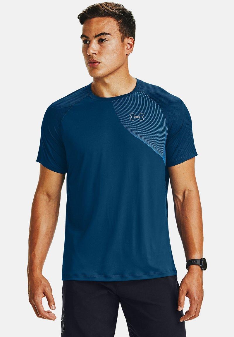 Under Armour - Print T-shirt - blue