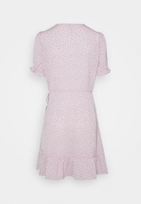 Nly by Nelly - PRINTED WRAP DRESS - Day dress - lilac floral - 1