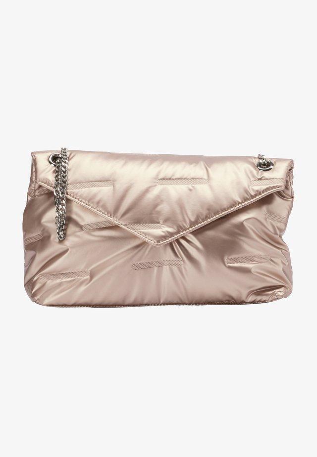 Across body bag - champagner
