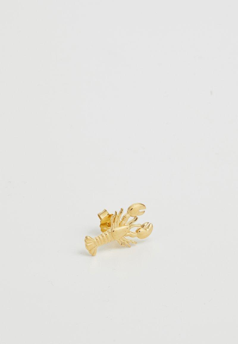 J.CREW - DEMI FINE CRITTER SINGLES STUD EARRING - Náušnice - gold-coloured