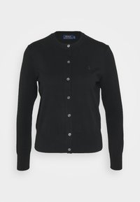 Polo Ralph Lauren - CARDIGAN LONG SLEEVE - Cardigan - black - 5