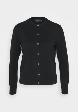 CARDIGAN LONG SLEEVE - Kardigan - black