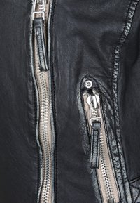 Gipsy - PGG LULV - Kožená bunda - black - 3