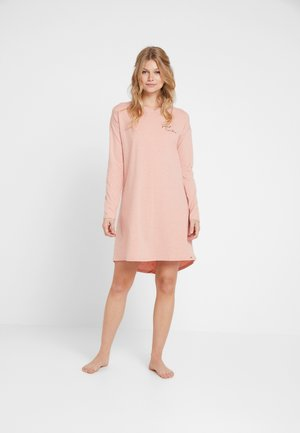 DAMEN SLEEPSHIRT LANGARM - Nightie - rosedawn