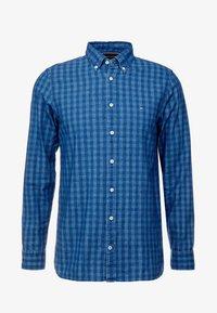 Tommy Hilfiger - SLIM FIT INDIGO TONAL CHECK - Shirt - blue - 3
