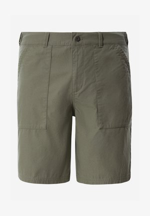 M RIPSTOP COTTON SHORT - Träningsshorts - agave green